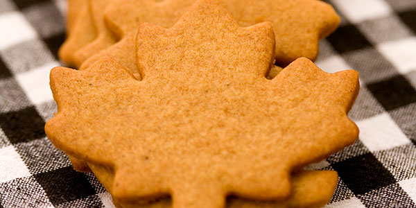 Buggy Leaf Spice cookies