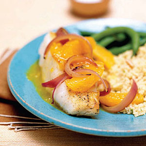 Cod with oranges healthy fish recipes for Is cod fish kosher