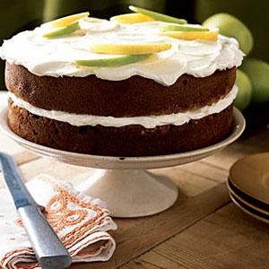 Applesauce Spice Layer Cake