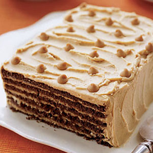 Chocolate peanut butter ice cream cake woman's day