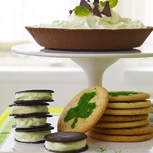 Frozen Thin-Mint Grasshopper Pie - Dessert Recipes