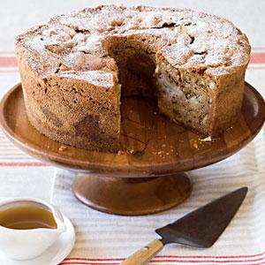 apple and walnut whole wheat bread pudding apple walnut cake recipe ...