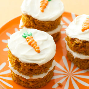 Individual Carrot Cake Recipe