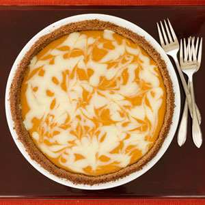 Swirled Pumpkin Cheesecake swirled pumpkin cheesecake