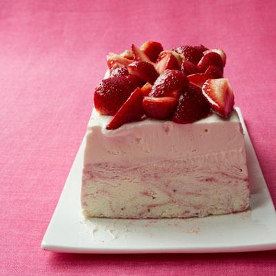 Strawberry Ice Cream Cheesecake Recipe