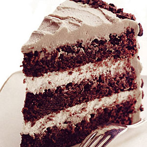 German Chocolate Cake With Caramel Cream Frosting