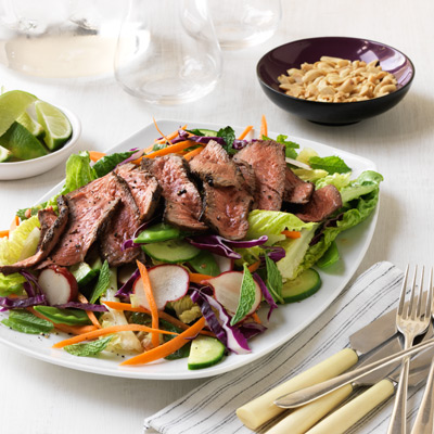 Asian Grilled Beef Salad Recipe