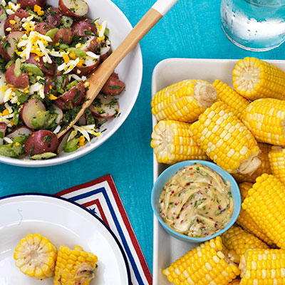 Corn on the Cob with Honey Lime Butter Recipe