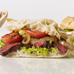 ... is easy grilled steak sandwich with grilled steak and watercress