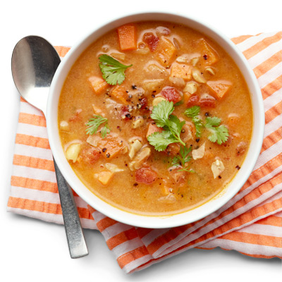 Sweet Potato and Peanut Soup Recipe