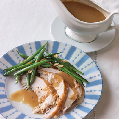 Savory Cider and Thyme Turkey Gravy Recipe
