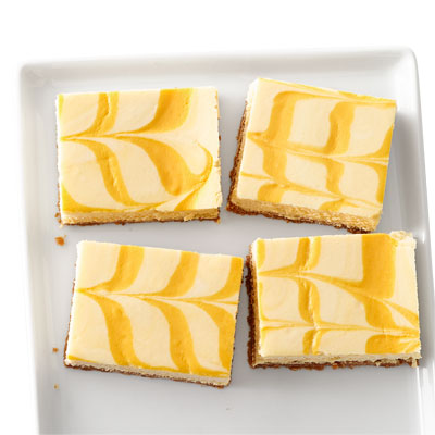 Creamsicle Cheesecake Bars Recipe