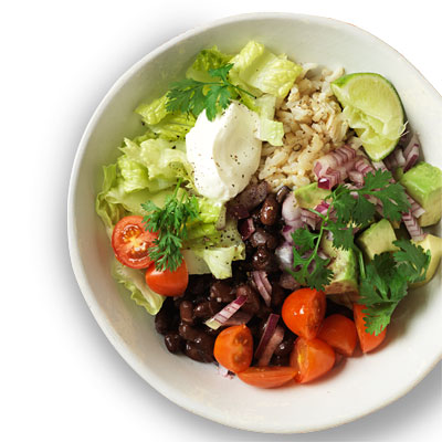 Hearty Bean Burrito Bowl Recipe