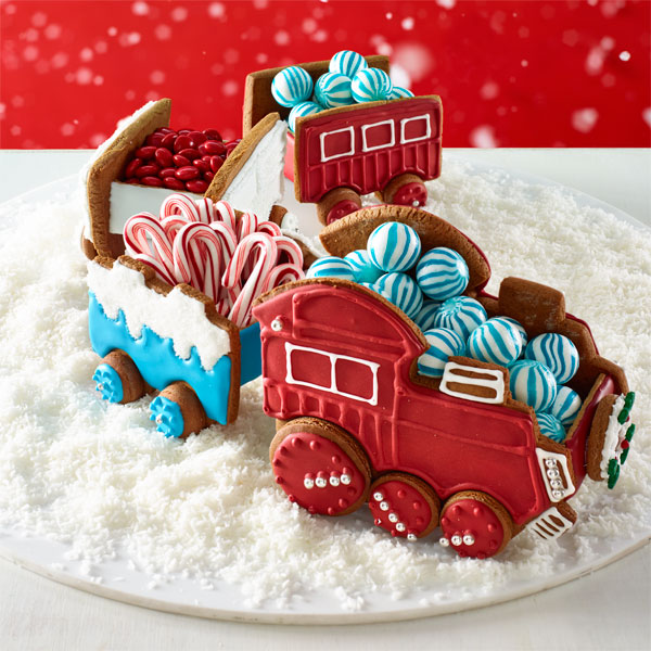 Train gingerbread house quotes