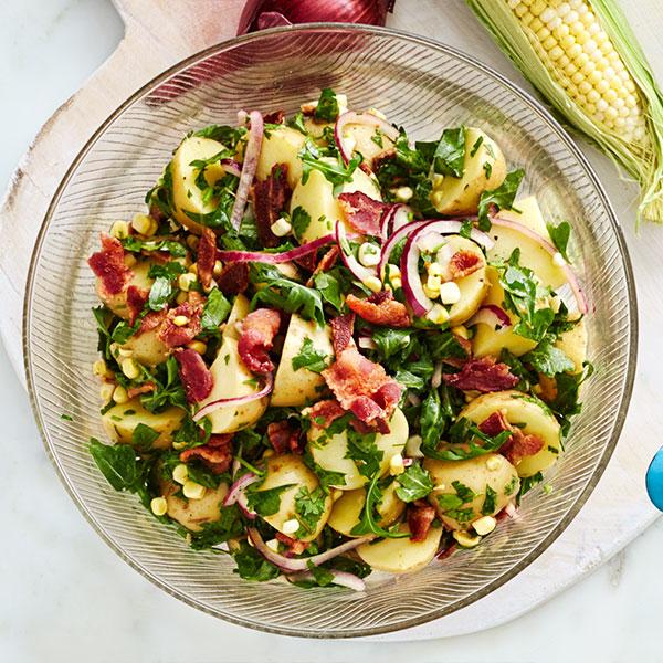 arugula corn salad with bacon arugula corn salad with bacon i served ...
