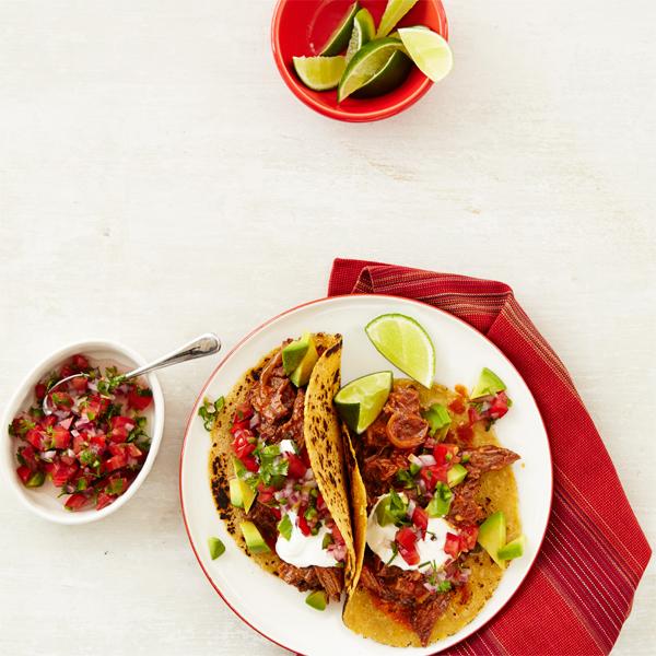 Chipotle Beef Tacos with Pico de Gallo Recipe