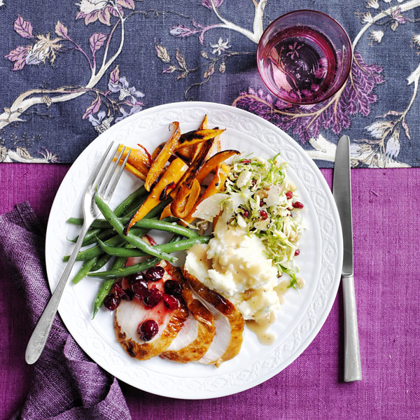 Dinner recipes - Herb-Roasted Turkey