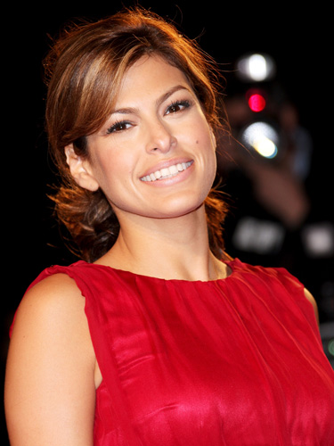10 eva mendes hairstyles haircuts and color ideas classy updo pmusecretfo Choice Image
