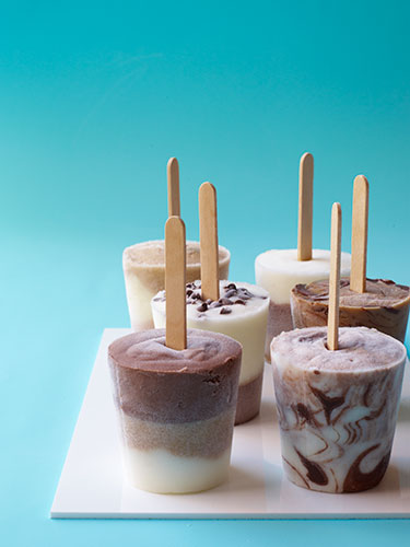 Yogurt Pops - How to Make Frozen Yogurt Pops