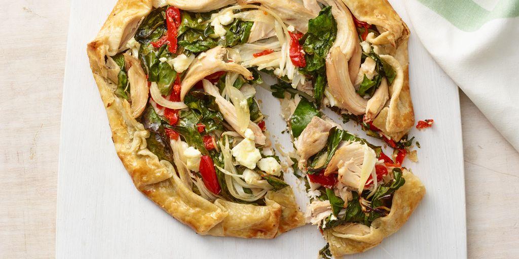 Mediterranean Chicken Galette Recipe