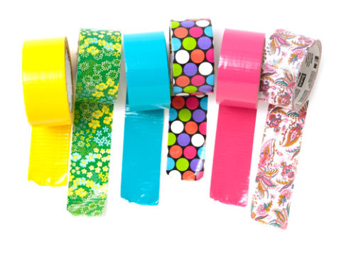 Duct tape uses color duct tape for Duck tape craft ideas