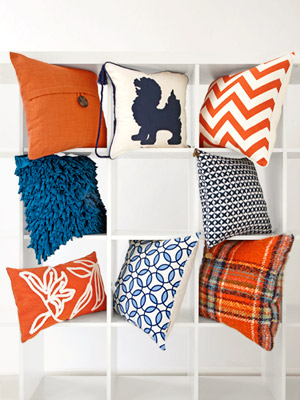 Different Decorative Pillow Types : Pretty Accent Pillows for Pennies