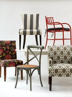 Living Room Chairs - Side Chairs