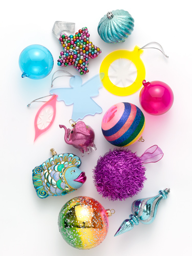 funky ornaments - unique christmas ornaments