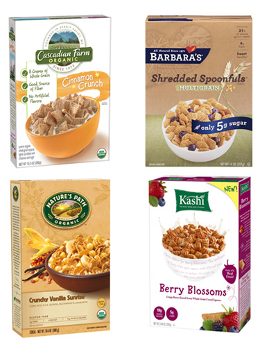 Image Gallery healthy cereal options