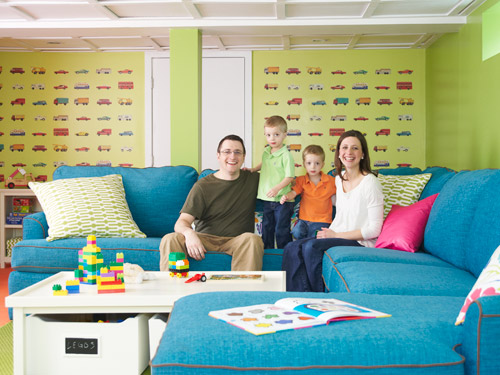 Until the economy picks up, the too-small house that was Beth and Mike