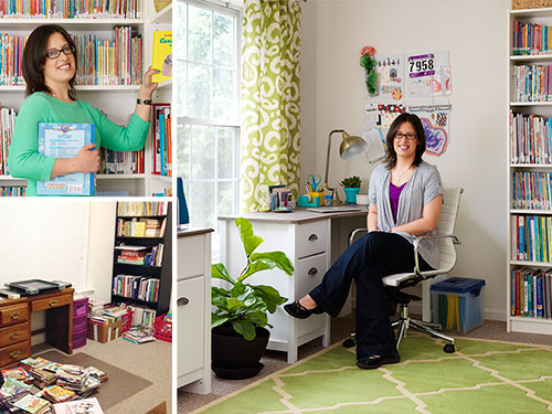 How to Organize Home Office - Home Office Makeover