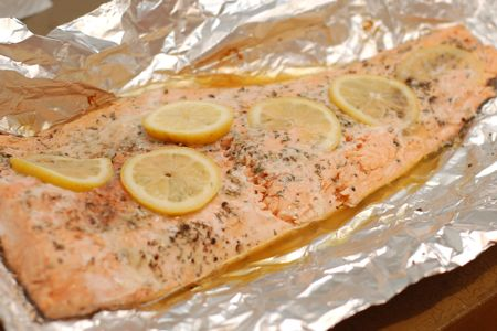 Foil wrapped salmon grilled salmon recipe foil packet salmon on the grill ccuart Gallery