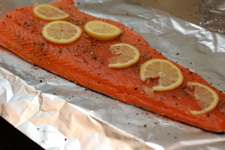 Foil wrapped salmon grilled salmon recipe would be to wrap it in foil before putting it on the grill we did encounter one hiccup but it all turned out right kind of awesome even in the end ccuart Gallery