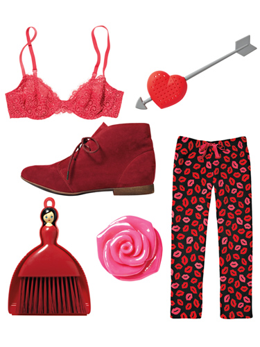 sure you may be shopping for your valentine but dont you deserve - Red Home Decor Accessories