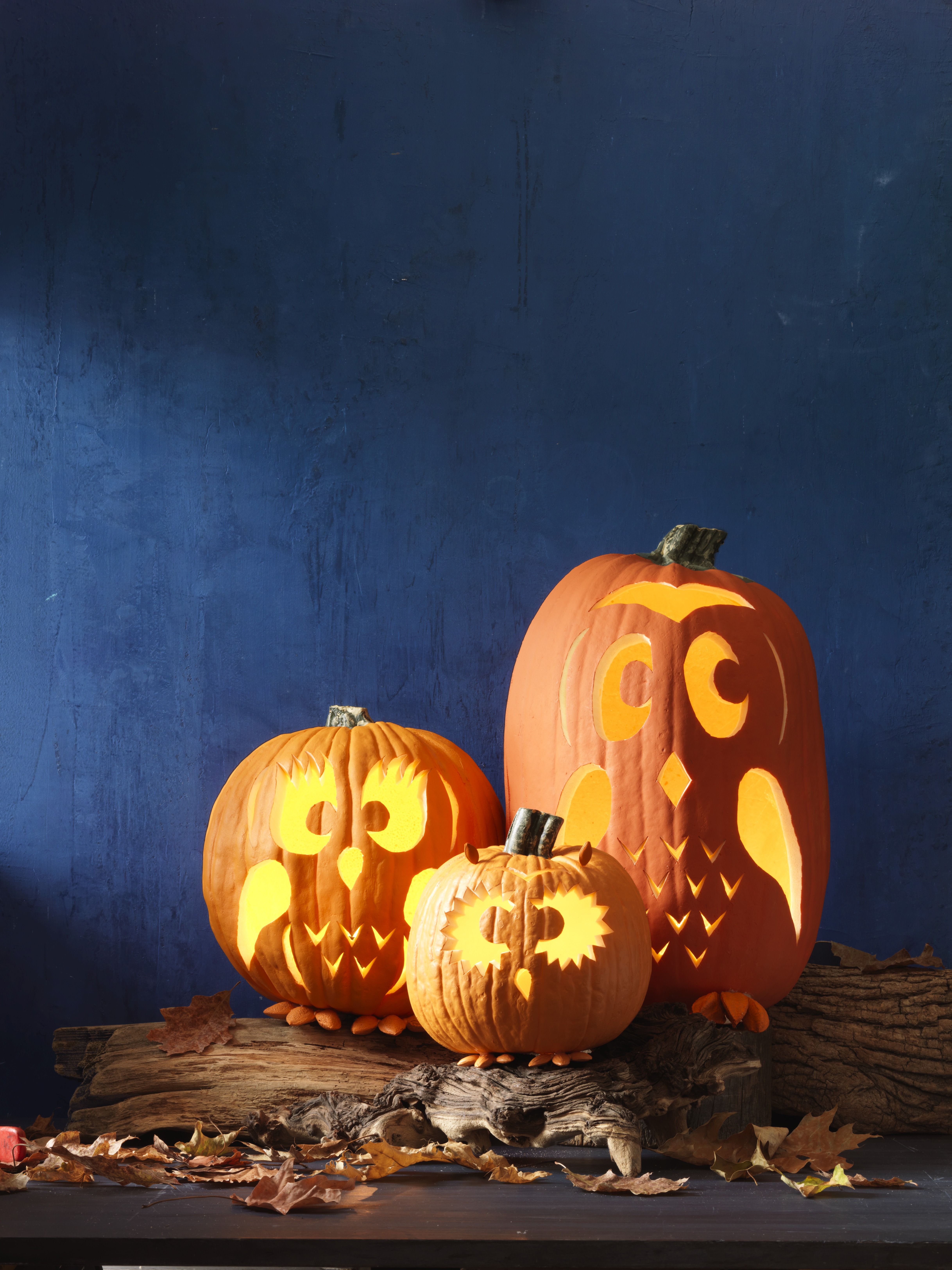 Clean Out Pumpkin Jack O Lantern