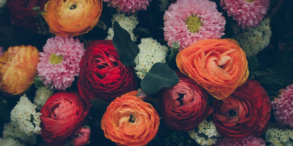 Most Common Bouquet Flowers | Credainatcon.com