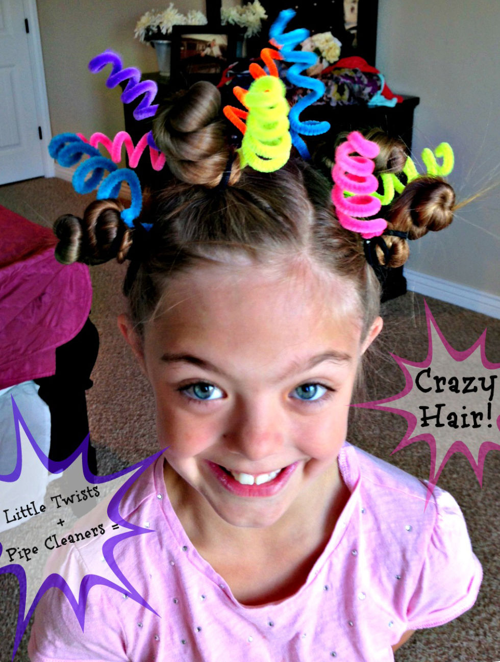 crazy hair day ideas - wacky hair styles