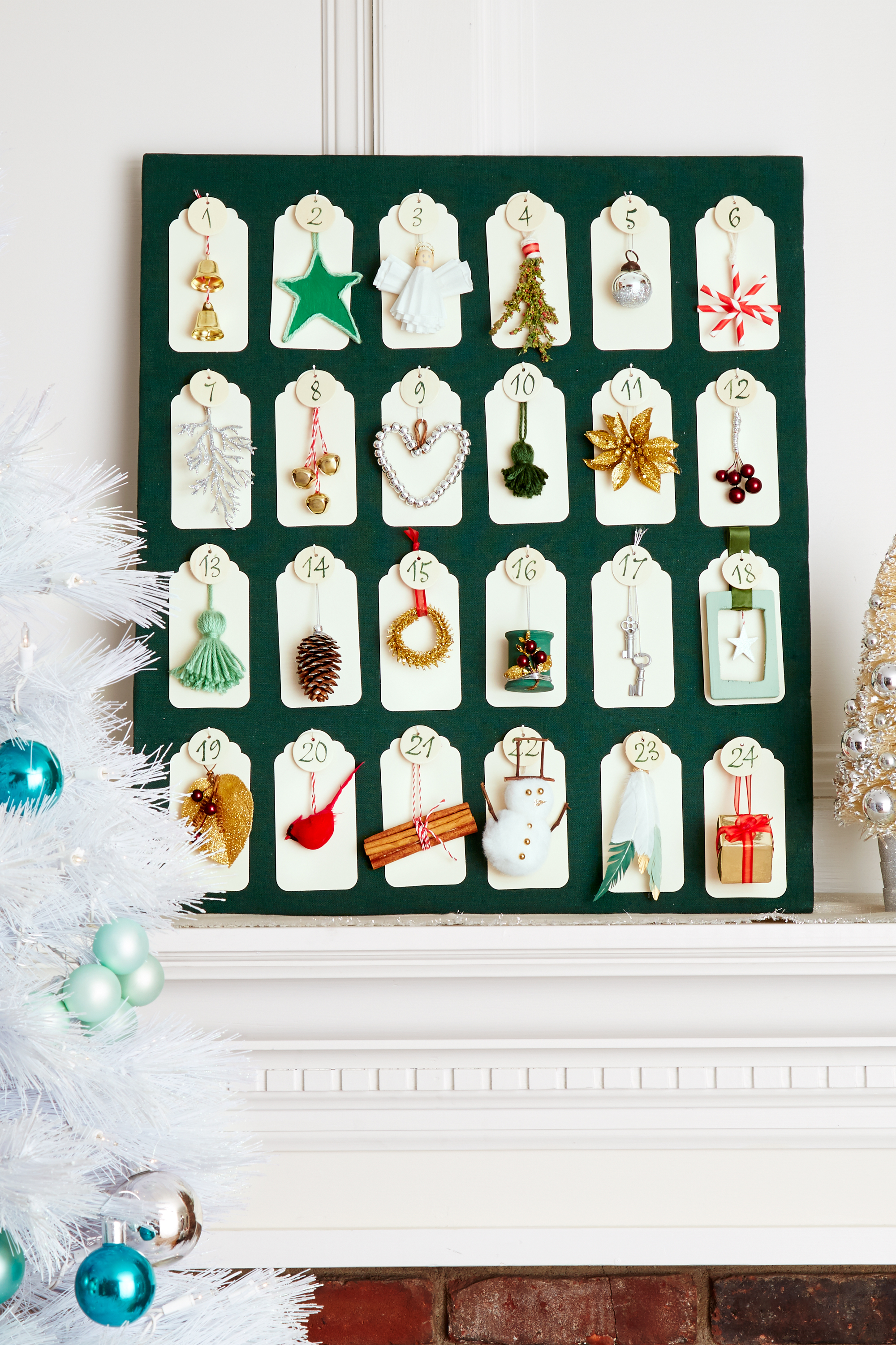 advent calendar craft ideas 30 diy ornament craft ideas how to 3319