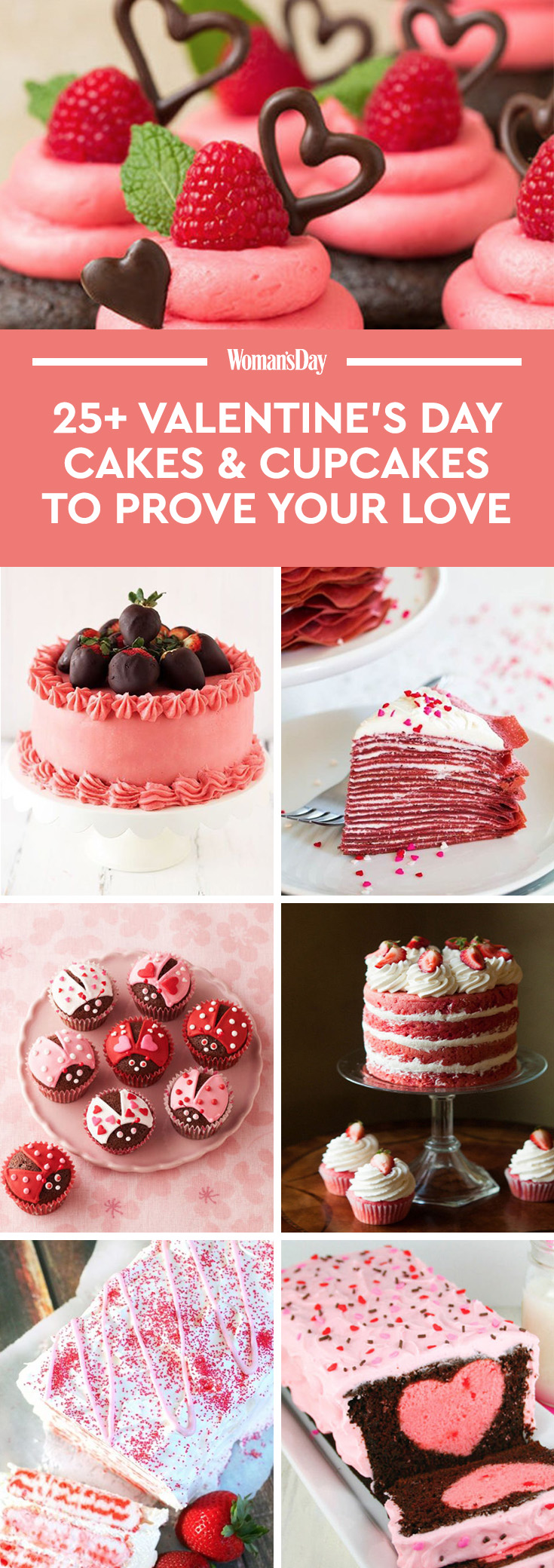 27 valentine's day cupcakes and cake recipes - easy ideas for