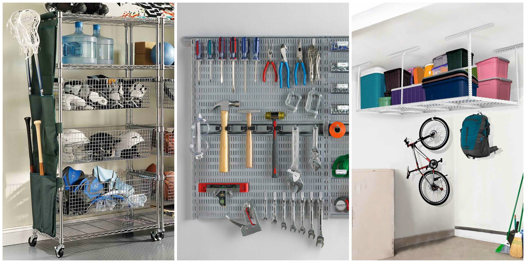 https www.containerstore.com tip roomgarage garage-shelving-ideas - 24 Garage Organization Ideas Storage Solutions and Tips