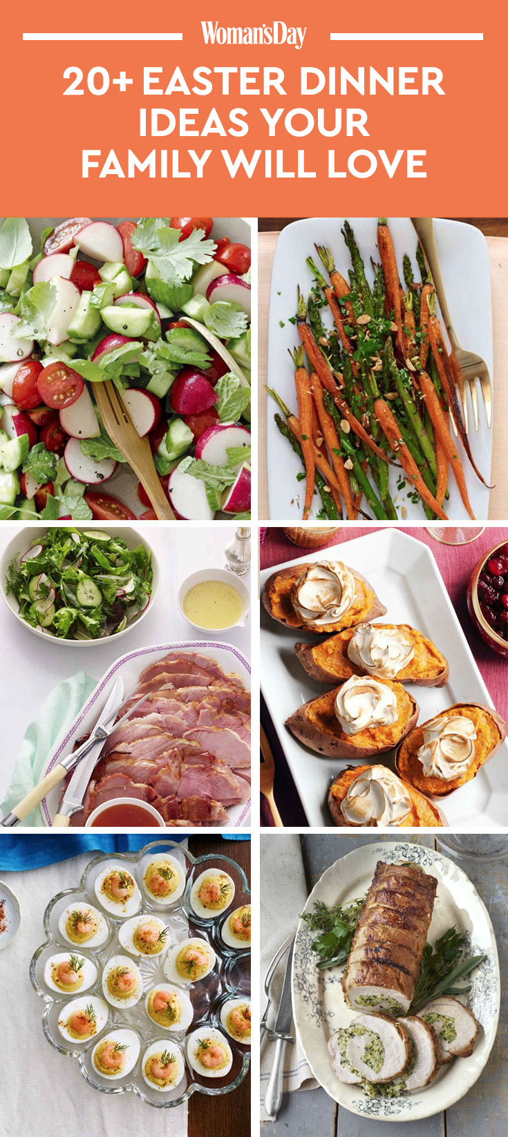 21 Easy Easter Dinner Ideas - Recipes for the Best Easter ...