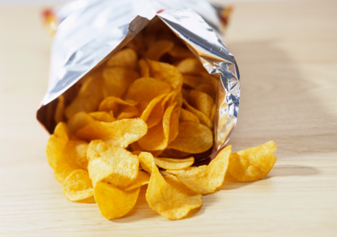 organic potato chips