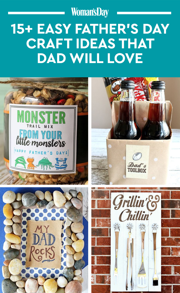craft ideas for dad 16 s day crafts for to make easy diy 3832