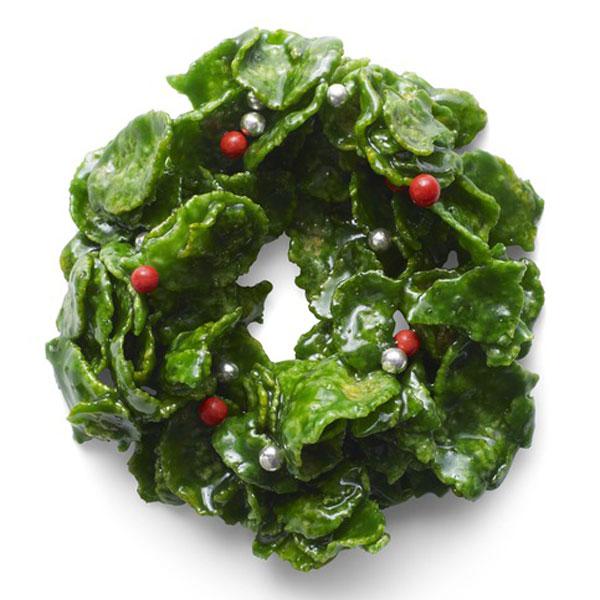 diy christmas photo prop ideas - Crispy Cornflake Wreaths Recipe